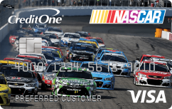 Official NASCAR® Credit Card from Credit One Bank®